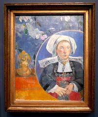 Paul Gauguin : La belle Angéle, 1889. (neppanen) Tags: sampen discounterintelligence paris pariisi ranska france museo museum musee art taide kuvataide painting maalaus maalaustaide muséed'orsay d'orsay orsay d´orsay paul gauguin paulgauguin
