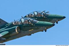 Embraer A-1 AMX (Força Aérea Brasileira - Página Oficial) Tags: 2011 a1amx amx brazilianairforce embraer fab forcaaereabrasileira fotojohnsonbarros voo inflight santacruz rj brazil bra