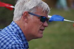 Absorbed (dlanor smada) Tags: westonturville bucks chilterns candids people sunglasses checks silverhair