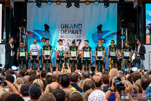 Tour de France 2017 Düsseldorf Teampräsentation