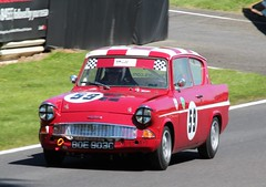 BOE 903C (2) (Nivek.Old.Gold) Tags: 1965 ford anglia 105e 997cc stevekirton cadwellpark hscc