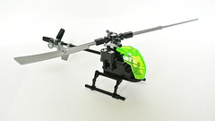 Small Lego Helicopter (MOC - 4K) (hajdekr) Tags: lego toy vehicle helicopter copter chopper rotorcraft rotor small simple simply moc myowncreation solution howto easy rotors aircraft helo heli whirlybird creation inspiration holiday rotorsystem buildingblocks legotoy forkids antitorque teeteringrotorsystem
