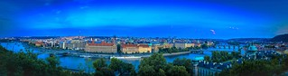 Panorama PRAG - blue hour