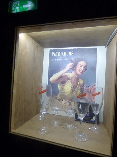 Patriarche Beaune - wine cellars - wine glasses