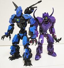 Shakahv, The Last Makuta (Ben Cossy) Tags: lego bionicle purple cossy lord blue flames makuta hf hero factory codyg ben bis inspiration series youtube instagram tahu gali lewa pohatu kopaka onua g2