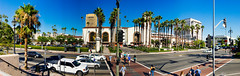 Union Station (Digital Artistry) Tags: sigma 28mm a77 sony panorama train historic losangeles station