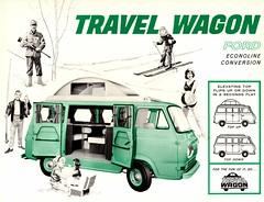1963 Ford Econoline Travel Wagon (aldenjewell) Tags: 1963 ford econoline travel wagon motorhome conversion brochure equipment corporation elkhart indiana