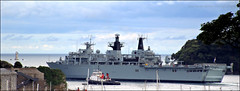 HMS Albion (PAUL Y-D) Tags: hmsalbion navy royal ship warship plymouthsound devilspoint