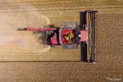 CASE IH Axial Flow 9240 + 35ft drapper (Mat Bonaventure) Tags: case ih quadtrac axial flow 9240 draper harvest moisson 2017