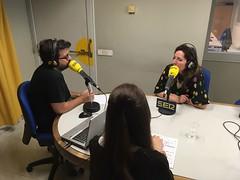 Luis Pardo pregunta a Ilona Timchenko, directora del Festival