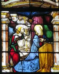 Cathédrale Sainte-Marie, Vitraux (1507-1513) de Arnaud de Moles, Auch (32) (Yvette G.) Tags: auch gers 32 occitanie midipyrénées cathédrale vitrail arnauddemoles renaissance annonciation marie