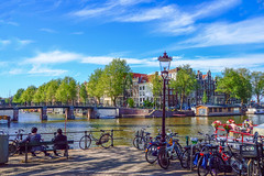 Beautiful Day on the canal.jpg (sdphotography42 (M. Sean Dingle)) Tags: amsterdam canals nederlands netherlands dutch europe yourbestoftoday