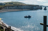 IMG_2714 (Beth Hartle Photographs2013) Tags: isleofwight freshwaterbay chalkcliffs sea fishingboat earlymorningsun