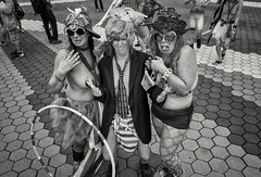 Mermaid Parade 2017 (Roy Savoy) Tags: bw blackandwhite streetphotography street people mermaidparade roysavoy nyc newyorkcity newyork blacknwhite streets streettog streetogs ricoh gr2 candid flickr explore candids city photography streetphotographer 28mm nycstreetphotography gothamist tog mono monochrome flickriver snap digital monochromatic blancoynegro