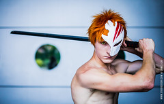 Japan Expo 2015 : Cosplay Ichigo from Bleach (James Cao | Studiosushi™) Tags: japanexpo japan expo 2015 ichigo bleach cosplay studiosushi