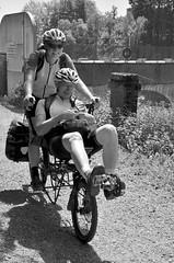 Tandem (soyer_rodrigue) Tags: nikon d5100 robertville tandem noiretblanc vélo bycicle belgique wallonie bw blackwhite