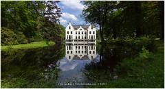 Staverden Castle, Netherlands (CvK Photography) Tags: canon color cvk estate europe gelderland landscape nature netherlands outdoor staverden summer veluwe staverdencastle reflection reflections