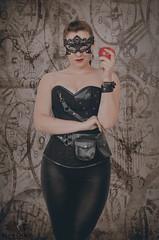 Apple for Teacher (Keltron - Thanks for 10M Views!) Tags: select brunette alexandra mask mardigrasmask masque blackleather redlipstick redlips beautifulgirl beautifulbody naturalbeauty ukrainiangirls ukrainegirls model