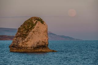 Full moon rise @ Freshwater Bay