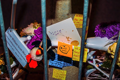 XM Memorial - Le Petit Prince (JohnP_123) Tags: lepetitprince thelittleprince memorial ghostbike cycling biking
