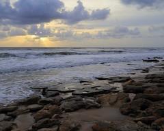 IMG_7332 5x4 marineland 10-28-16 w (grilee3) Tags: marineland florida beach rock coquina sunrise stormy weather surf coast