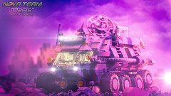 Oasis 13: Rolling Out (Agaethon29) Tags: lego afol legography brickography legophotography minifig minifigs minifigure minifigures toy toyphotography macro cinematic 2017 legospace neoclassicspace spaceman classicspace space scifi sciencefiction ncs novateam customminifigure moc oasis rover