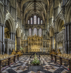 Ely Cathederal (30) (Darwinsgift) Tags: ely cathederal cambridgeshire hdr interior photomatix pce nikkor 24mm f35 photostich nikon d810