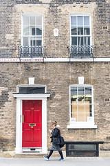 Artillery Place West (Mister Rad) Tags: nikond600 nikon50mmf14g london cityoflondon citystreets door red artilleryplacewest