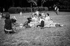 Picnic (Jesús Simeón) Tags: kyoto yoyogikoen yoyogipark shibuyaku tōkyōto picnic blackandwhite blackwhite monochrome streetphotography urbanlife