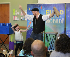 LEGGO My Magic Show with Daniel Lusk at the Georgetown Branch (ACPL) Tags: fortwaynein acpl allencountypubliclibrary georgetown geo slp summerlearningprogram 2017 magic children family