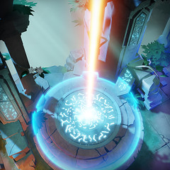 Well of Light (Archaica: The Path of Light) Tags: archaica path light screenshot gamedev indiedev indiegame game puzzle steam gameart beams mirrors ruins hills ancient civilization crystals environment map 3d gaming pcgaming well laser vfx effects