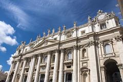 St Peter's Basilica (Glenn Pye) Tags: stpetersbasilica vaticancity vatican rome roma italy europe romancatholic church churches cathedral nikon nikond7200 d7200