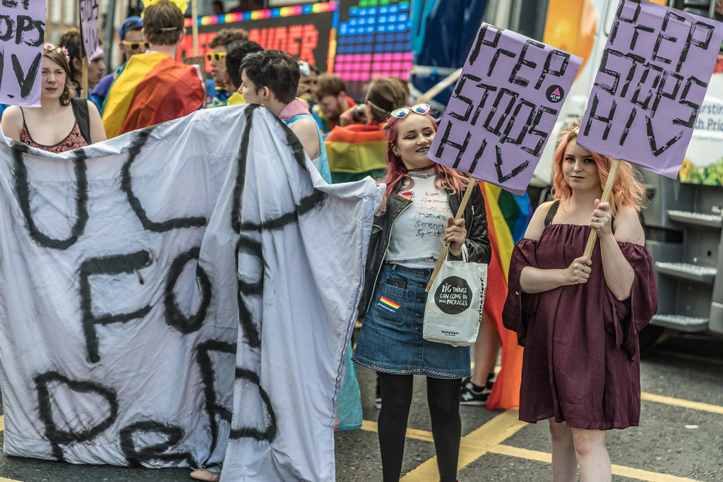 LGBTQ+ PRIDE PARADE 2017 [STEPHENS GREEN BEFORE THE ACTUAL PARADE]-129861