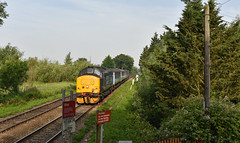 37419 - Whitlingham Junction - 5J67 (richa20002) Tags: drs direct rail services class 37 tractor thrash abellio greater anglia aga ga hellfire clag branch line norwich great yarmouth lowestoft wherry lines lhcs loco hauled service short set