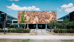 Cottbus (frollein2007) Tags: cottbus chosebuz brandenburg hitze ödnis btu ddr architektur wandbild mural osten spreewald