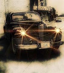 1947 Packard (Dave Linscheid) Tags: car automobile classic 1947 packard vintage texture textured stjamesrailroaddays stjames watonwancounty mn minnesota usa carshow