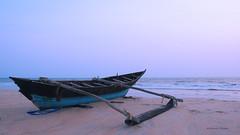Rejuvenated post the sabbatical (MaheshChopde) Tags: boat seashore repair sabbatical rest seascape dusk dawn outdoors marine holidays vacation beach goa india sky magical moments fun rejuvanated