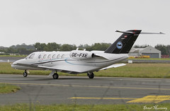 Speedwings Executive Jet Cessna 525A CJ2 OE-FXE (birrlad) Tags: dublin dub international airport ireland aircraft airplane airplanes aviation bizjet private passenger jet taxi taxiway arrival arriving landed runway oefxe cessna 525a citationjet cj2 c25a speedwings executive spg305