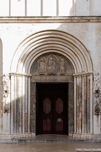 Porta de la Catedral de Sant Donat, de Zadar