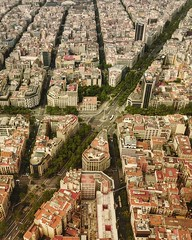 "(#droneview) plaça de joan carles I (avinguda #diagonal, It was originally projected by engineer and urban planner Ildefons Cerdà as one of the city's wide avenues, which along with Avinguda Meridiana would cut the rationalist grid he designed for l'Eixam (""guerrilla"" strategy) Tags: ifttt instagram droneview plaça de joan carles i avinguda diagonal it was originally projected by engineer urban planner ildefons cerdà one citys wide avenues which along with meridiana would cut rationalist grid he designed for leixample extension 