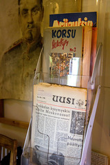 Igor museo, newspapers (visitsouthcoastfinland) Tags: visitsouthcoastfinland degerby igor museum museo finland suomi travel history indoor