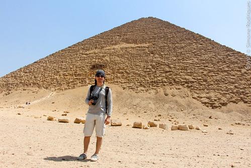 Sneferu's Red Pyramid. Royal Necropolis of Dahshur, Egypt.