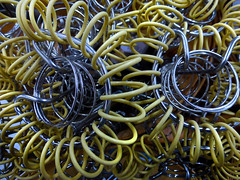 Tangled (arbyreed) Tags: arbyreed close closeup wire metal metalic mysterious