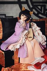 Magic Strings ♫•*¨*•.¸¸♪ (*Ryuugan*) Tags: iplehouse kid peach bjd doll abjd