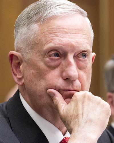 From flickr.com: Defense Secretary James Mattis {MID-237558}