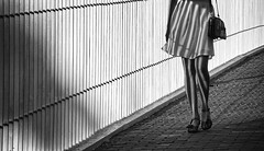 shadow (photoksenia) Tags: street woman feet odessa ukraine blackandwhite bw shadow shade