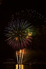 2017 camden waterfront fireworks (rafaelquinonez) Tags: camden waterfront water fireworks colorful fourth america red white blue nj new jersey usa exposure