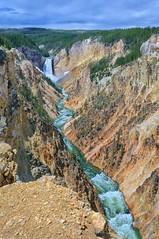 Yellowstone Gorge (Philip Kuntz) Tags: yellowstoneriver lowerfallsoftheyellowstone waterfalls grandcanyonoftheyellowstone gorge chasm geology canyon yellowstonenationalpark wyoming