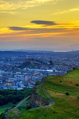 Edinburgh skyline from Arthur's Seat at Dusk (MilesGrayPhotography (AnimalsBeforeHumans)) Tags: architecture auldreekie a7ii 2870 britain blending city cityscape castle castlerock dusk colourful edinburgh europe evening edinburghcastle fe sonyfe2870mmf3556oss glow historic historicscotland iconic ilce7m2 landscape lens nd outdoors oldtown photography photo portrait rocks ruins crags arthursseat scotland skyline sky scenic sunset summer sony sonya7ii town twilight trees uk unitedkingdom volcano volcanic