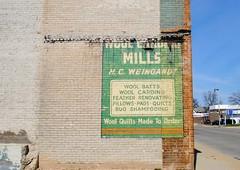 Milwaukee Wool Carding Mills (Cragin Spring) Tags: wisconsin wi midwest building unitedstates usa unitedstatesofamerica ghostsign sign ghost city urban milwaukee milwaukeewi milwaukeewisconsin woolcarding woolcardingmills hcweingandt gordonfbrenner